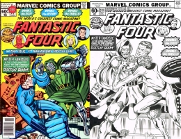 Fantastic Four #200 - Bill Willingham and Joe Rubinstein - One Minute Later Comic Art