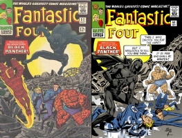 Fantastic Four #52 OML with Color Comic Art