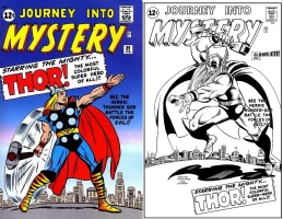 Journey into Mystery #89 - OML - Pollard & Sinnott Comic Art