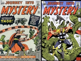 Journey Into Mystery #83 - One Minute Later - COLOR Comic Art