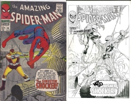 Amazing Spider-Man #46 - Mark Bagley & Joe Rubinstein - One Minute Later Comic Art