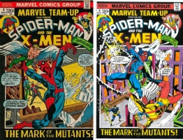 Marvel Team-Up #4 - Kirk Jarvinen - Color - One Minute Later Comic Art