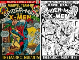 Marvel Team-Up #4 - Kirk Jarvinen - One Minute Later Comic Art