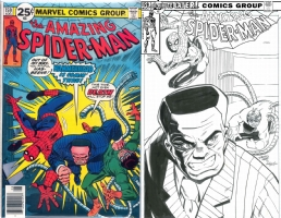 Amazing Spider-Man #159 - Dimitris Moore & Joe Rubinstein - One Minute Later Comic Art