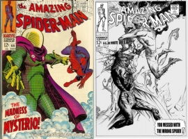 Amazing Spider-Man #66 - JAE LEE - ONE MINUTE LATER, Comic Art