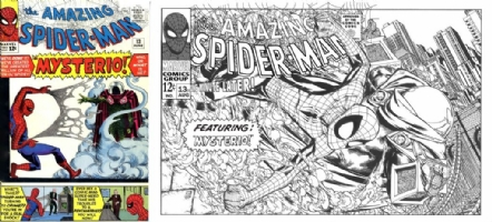 Amazing Spider-Man #13 - Patrick Scherberger - One Minute Later Comic Art