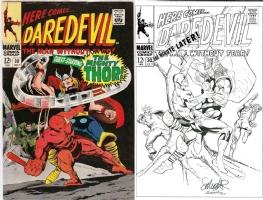 Daredevil #30 - Salvador Larroca & Joe Rubinstein - One Minute Later Comic Art
