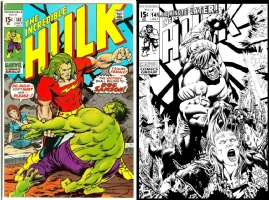 Hulk #141 - Jeff Edwards - One Minute Later Comic Art