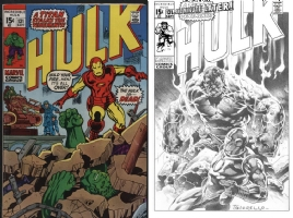 Hulk #131 - Tomas Giorello - One Minute Later - Must See!!!! Comic Art