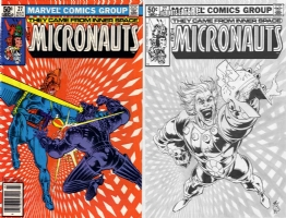 Micronauts #27 - One Minute Later - Kurth & Schulz Comic Art