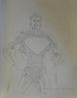 Superman - S Clarke Hawbaker Comic Art