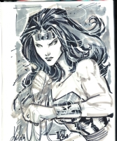 Wonder Woman - Ken Lashley Comic Art
