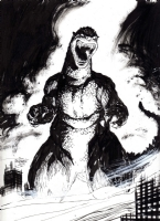 Godzilla, by Scott Dalrymple Comic Art