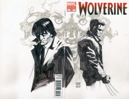 The Wolf and the Wolverine Comic Art