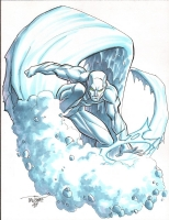 Iceman by Scott Dalrymple Comic Art