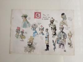 7th Egypt 1941 El Alamein- Hugo Pratt - FOR SALE Comic Art