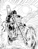 Hell-Rider by Smith and Almond Comic Art