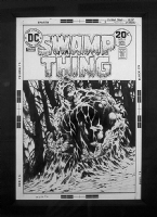 Swamp Thing 9 cover Comic Art
