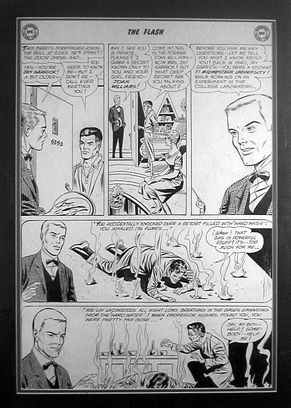 Flash #123  The Meeting  Comic Art