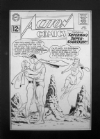 Action Comics 289 cover Comic Art