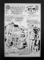World's Finest 169 cover Comic Art