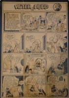 Bob Kane Peter Pup page Comic Art