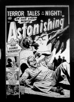 Astonishing 22 cover Comic Art