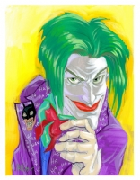 Joker by Joe Phillips Comic Art
