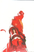 Hellboy by Esad Ribic Comic Art