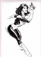 Scott Dalrymple drawing of Jade Comic Art