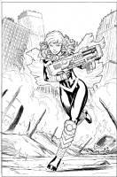 Hope Summers by Ed McGuinness (Hasbro's Marvel Legends X-Men), Comic Art