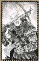 Cable by Mike Rooth (Viking Style), Comic Art